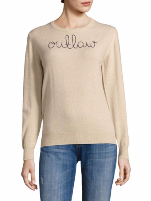 Lingua Franca Cashmere Sweater $360