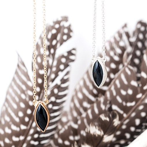 Colby & June Raven's Eye Necklace $115