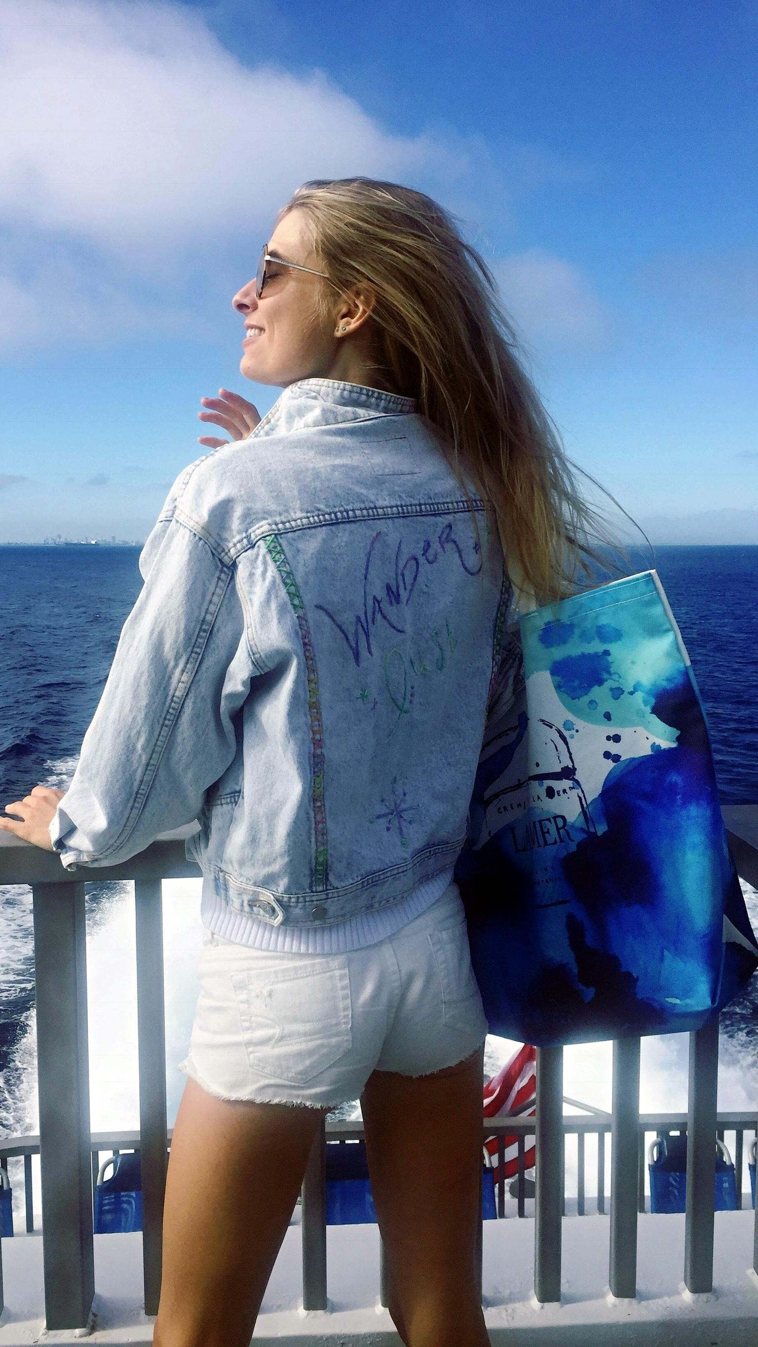 Vagablonde Embroidered Jacket $250