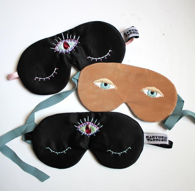 Earthen Warrior Melatonin Inducing Third Eye Sleep Mask $78