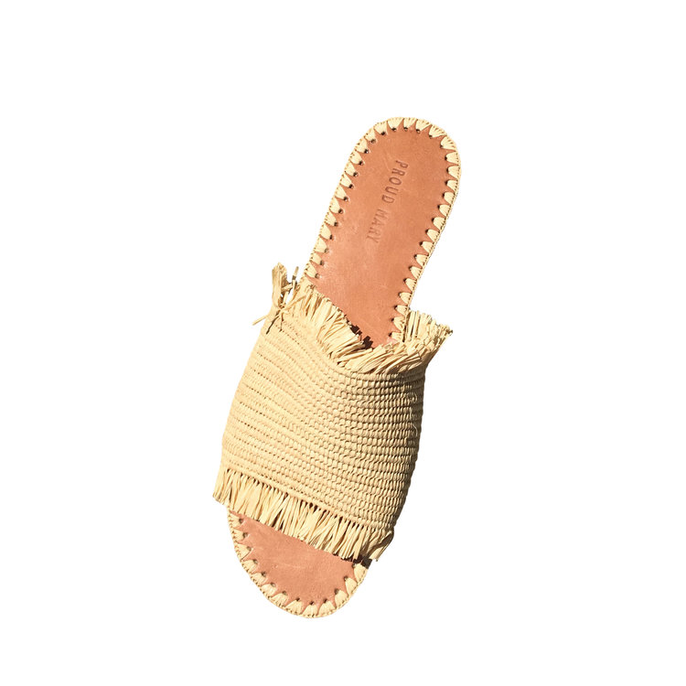 Proud Mary Moroccan Fringe Sandal $178