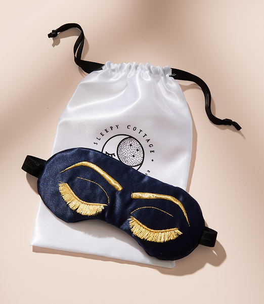 Sleepy Cottage Vintage Glam Eye Mask $30