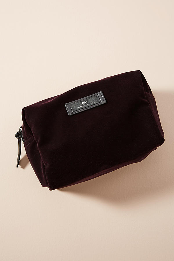Day by Birger Velvet Cosmetic Bag $38