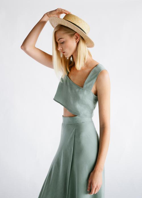 Bon George Crop Top & Skirt $72+