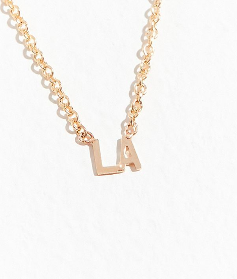 May Martin 14k LA Necklace $106