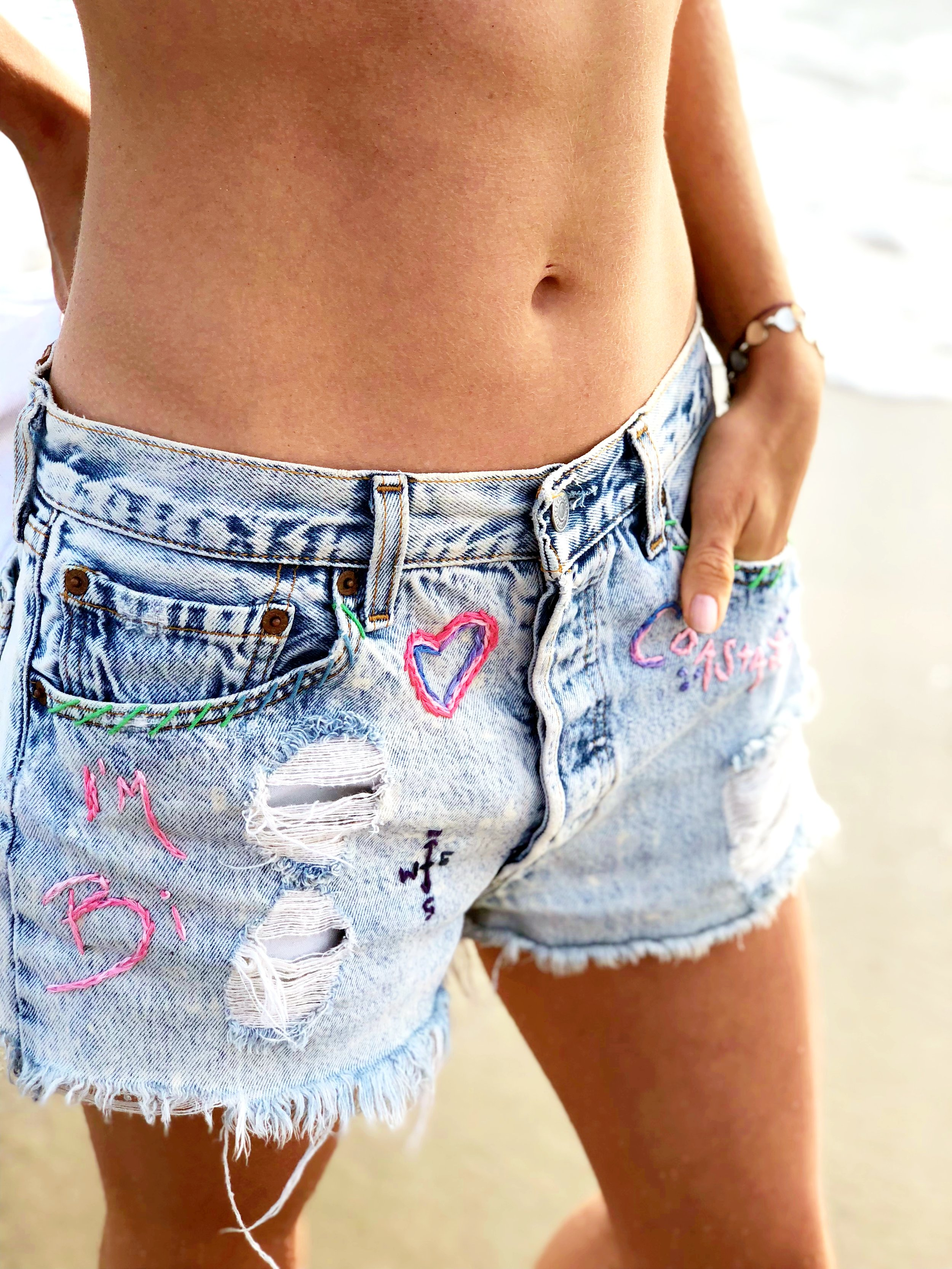 Vagablonde Bi-Coastal Shorts $95 ... Coming soon! Message me for details :-)