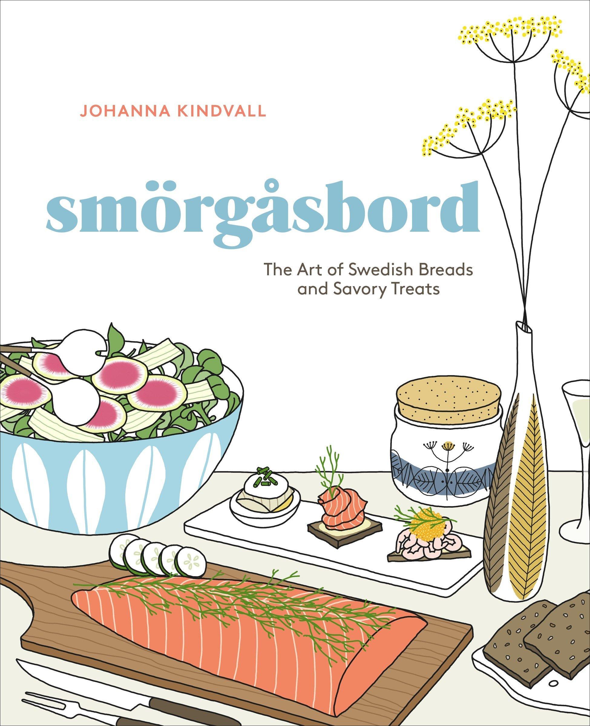 Smorgasbord - Swedish Breads & Savory Treats Cookbook $12