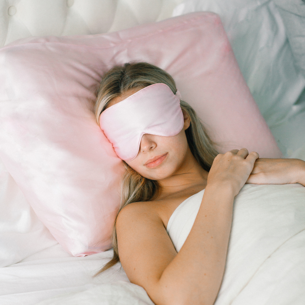 Kitsch Silk Eye Mask $34