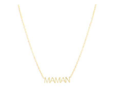 Maya Brenner x Clare V Maman Pendant $325