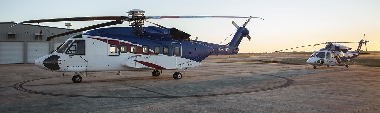 Sikorsky S-92 & Sikorsky S-76D
