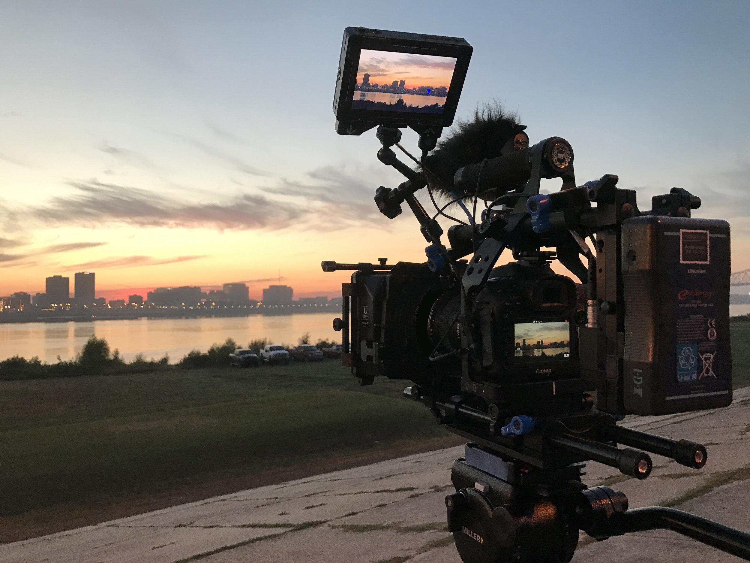 Baton Rouge Skyline @ Sunrise