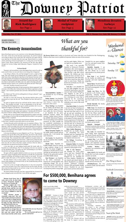 Vol. 13, No. 33, November 27, 2014