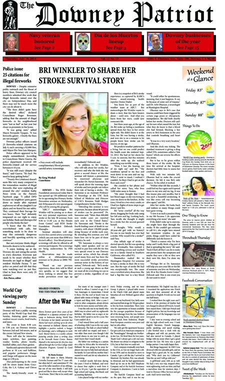 Vol. 13, No. 13, July 10, 2014