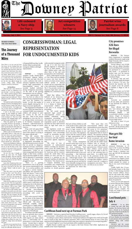 Vol. 13, No. 12, July 3, 2014