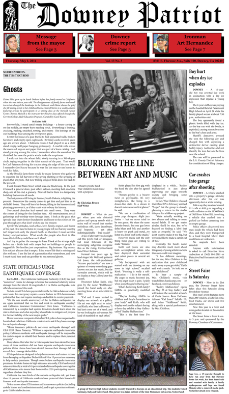 Vol. 13, No. 3, May 1, 2014