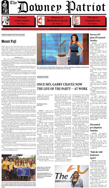 Vol. 12, No. 48, March 13, 2014