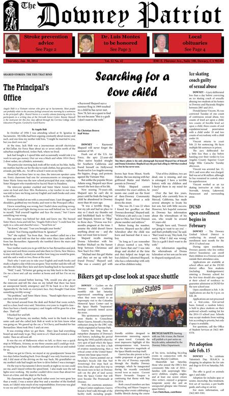 Vol. 12, No. 42, January 30, 2014
