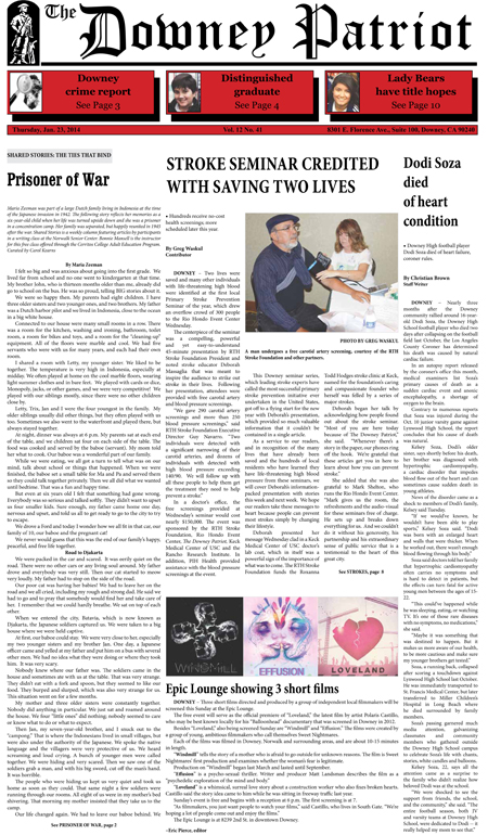 Vol. 12, No. 41, January 23, 2014