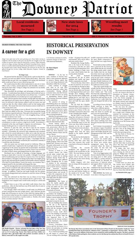 Vol. 12, No. 38, January 2, 2014