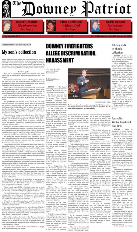Vol. 12, No. 37, December 26, 2013
