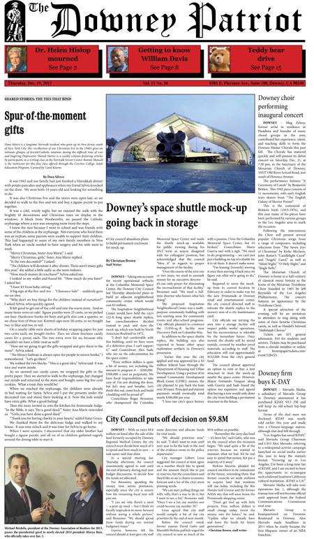 Vol. 12, No. 36, December 19, 2013