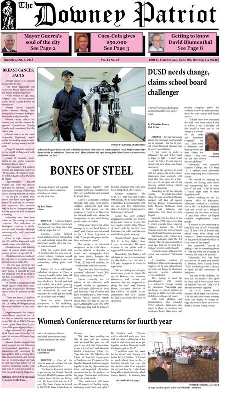 Vol. 12, No. 25, October 3, 2013