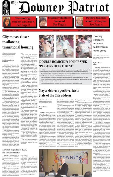 Vol. 12, No. 2, April 25, 2013