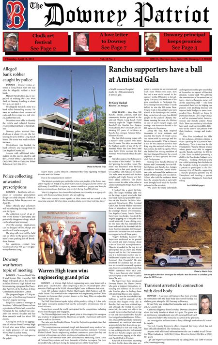 Vol. 12, No. 1, April 18, 2013