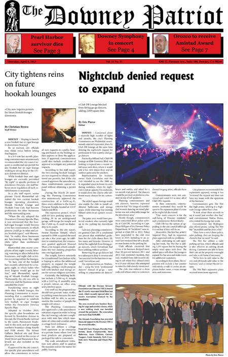 Vol. 11, No. 51, April 4, 2013