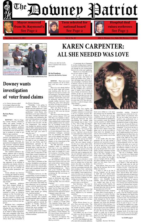 Vol. 11, No. 42, January 31, 2013