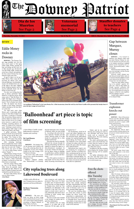 Vol. 11, No. 31, November 15, 2012