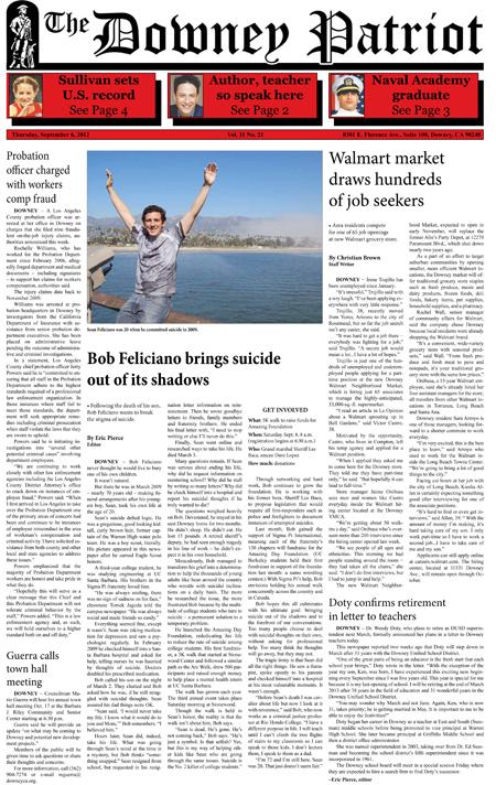 Vol. 11, No. 21, September 6, 2012