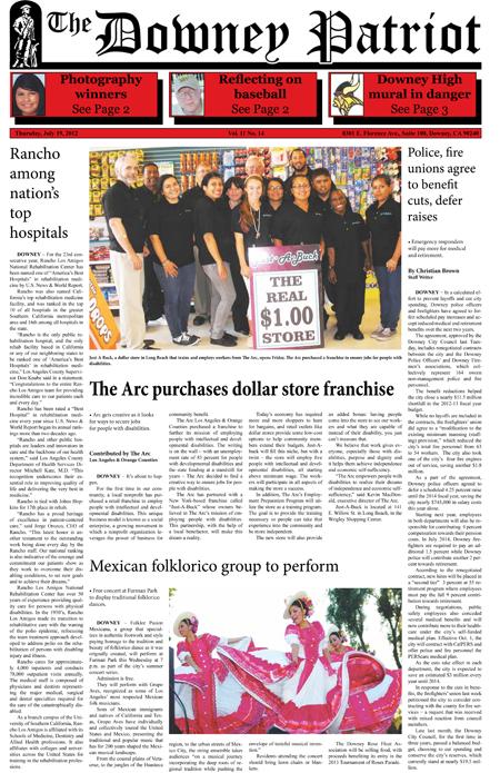 Vol. 11, No. 14, July 19, 2012