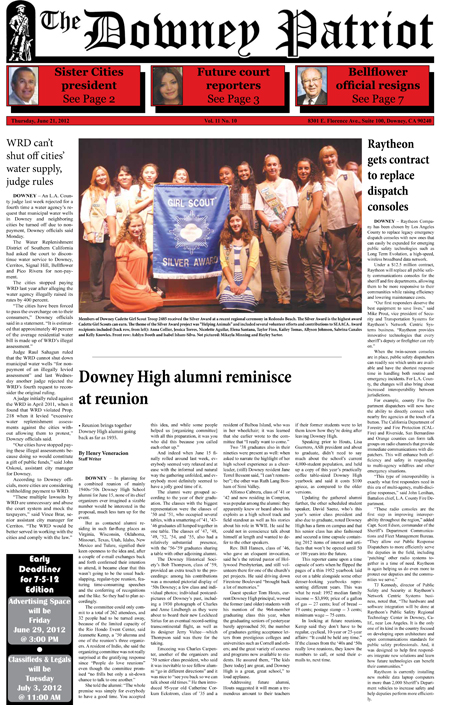 Vol. 11, No. 10, June 21, 2012