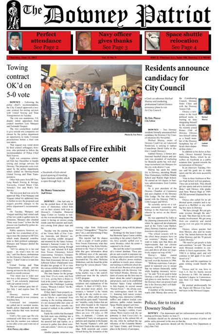 Vol. 11, No. 9, June 14, 2012