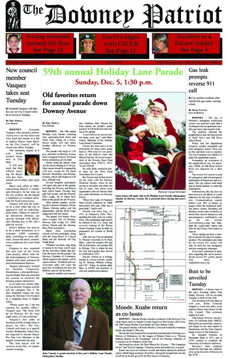 Vol. 9, No. 33, December 2, 2010