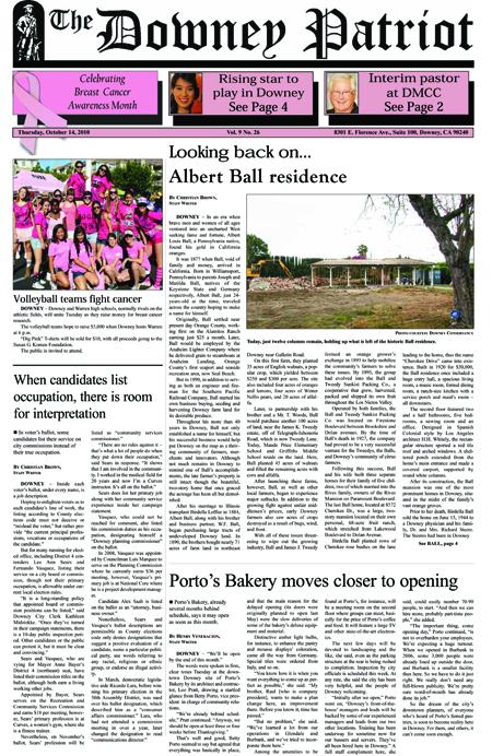Vol. 9, No. 26, October 14, 2010