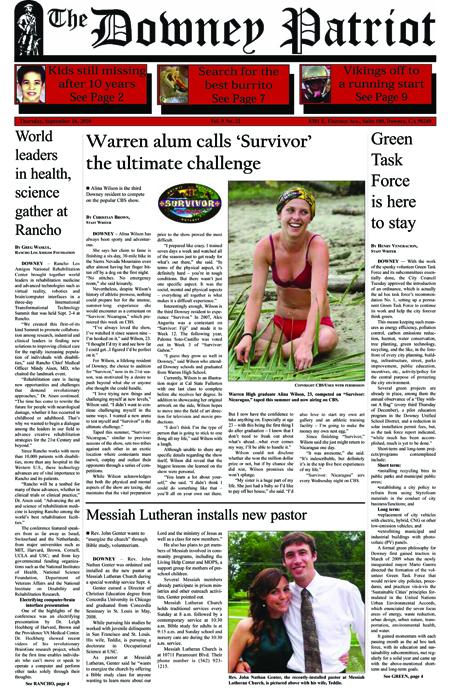 Vol. 9, No. 22, September 16, 2010