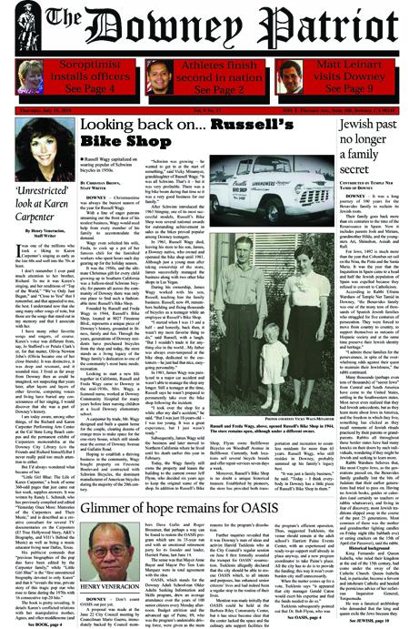 Vol. 9, No. 13, July 15, 2010