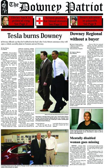 Vol. 9, No. 5, May 21, 2010