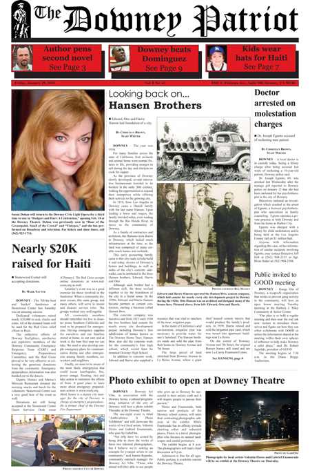 Vol. 8, No. 41, January 29, 2010