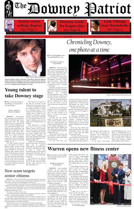 Vol. 8, No. 39, January 15, 2010