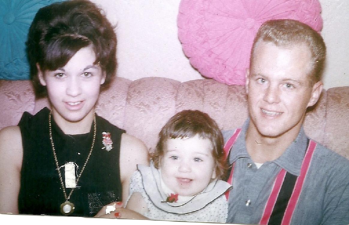 Yolanda, Vic and their daughter, Yvette.