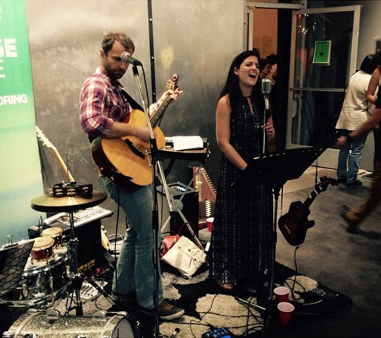 Geoff and Scarlet Gross, of Merlot Embargo, are Downey residents who will be performing at Make Music Downey.