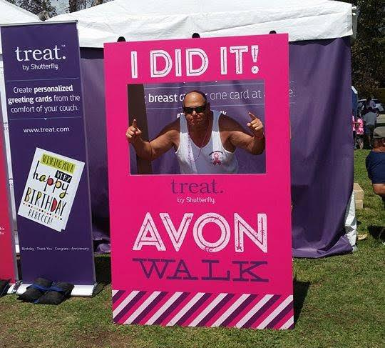 Howard Phillips will walk 39.3 miles in support of Avon's Walk to End Breast Cancer.