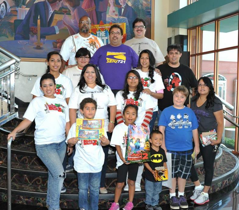 Volunteers at last year's Glennfest.