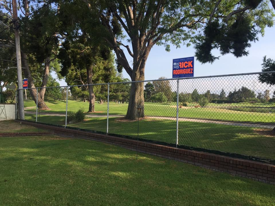 Councilman Rick Rodriguez's backyard at the 7th hole of the Rio Hondo Golf Club. Facebook photo