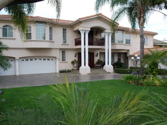 A shortage of inventory continues to send Downey home prices up. This 6 bedroom, 5 bathroom Downey home is on the market for $1.689 million. (Zillow)
