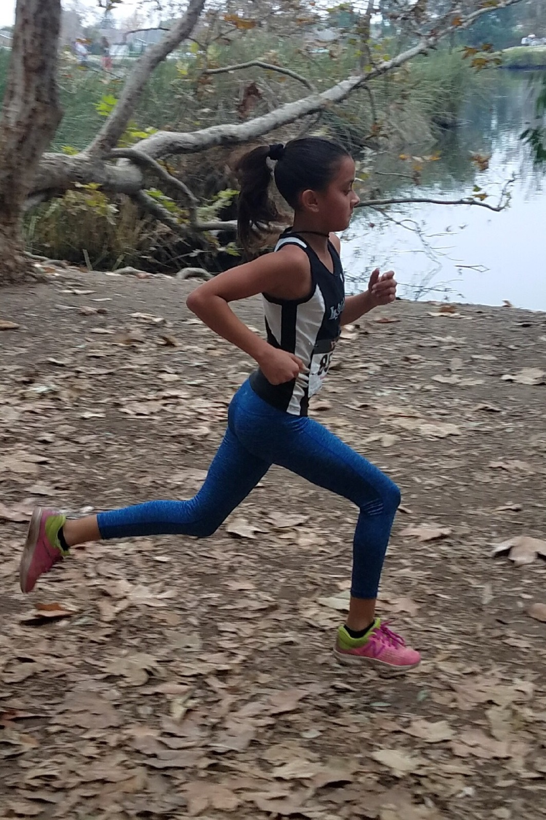 Distance runner Stephanie Hernandez will represent Downey at the national championships next week. Courtesy photo