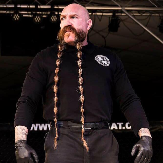 For popular MMA referee Mike Beltran, his roots are in